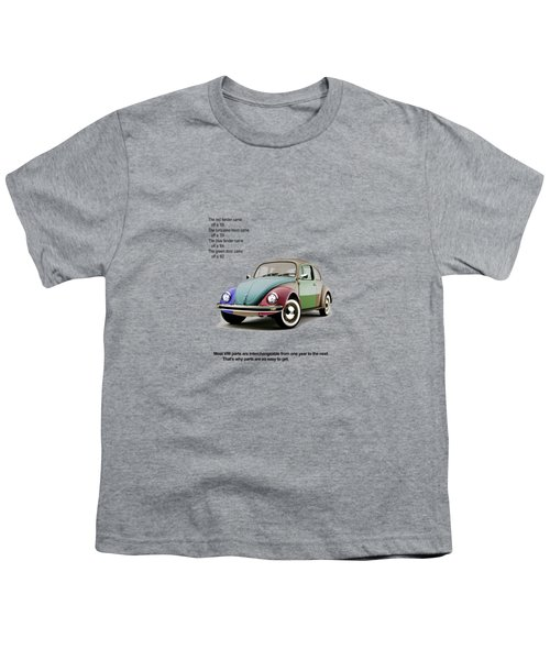 Vw Parts Youth T-Shirt by Mark Rogan