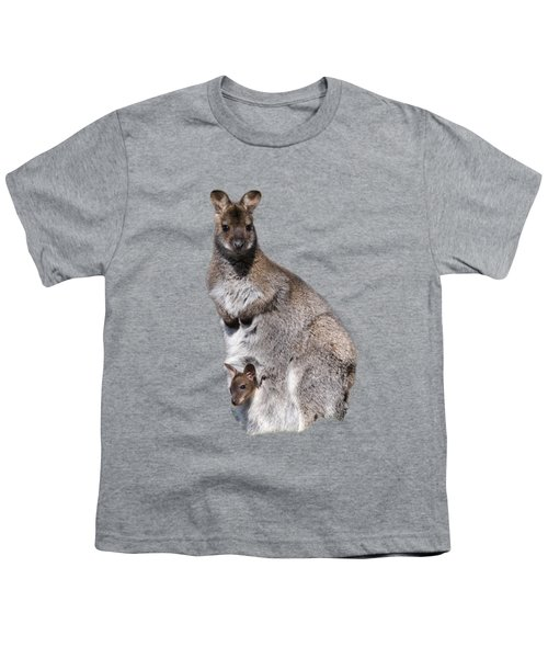 Wallaby Youth T-Shirt by Scott Carruthers