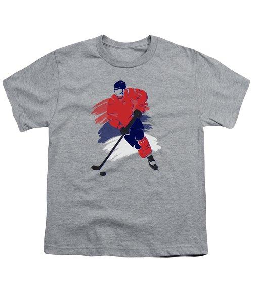 Washington Capitals Player Shirt Youth T-Shirt by Joe Hamilton