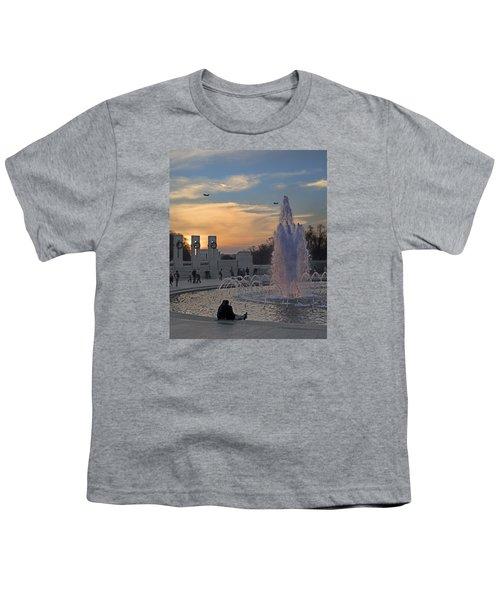 Washington Dc Rhythms  Youth T-Shirt by Betsy Knapp