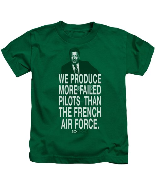 30 Rock - Failed Pilots Kids T-Shirt by Brand A