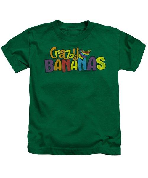Dubble Bubble - Crazy Bananas Kids T-Shirt by Brand A