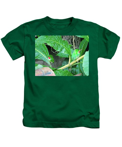 Jamaican Toadies Kids T-Shirt by Carey Chen
