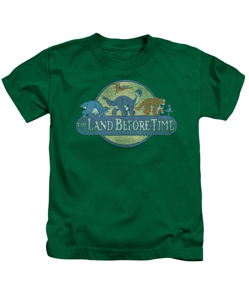 Land Before Time - Retro Logo Kids T-Shirt by Brand A
