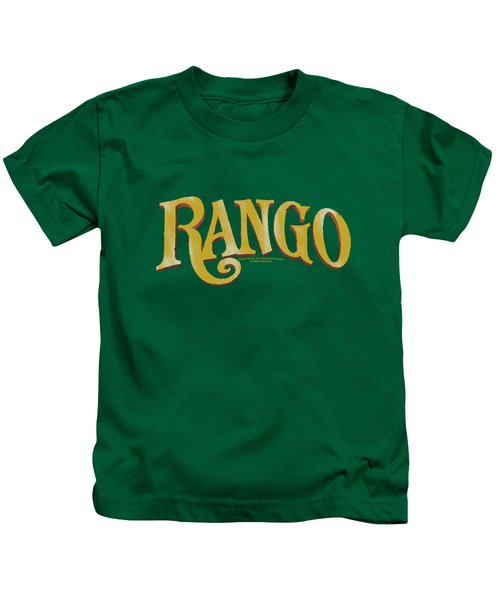 Rango - Logo Kids T-Shirt by Brand A