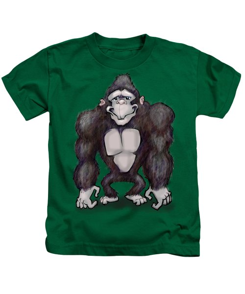 Gorilla Kids T-Shirt by Kevin Middleton