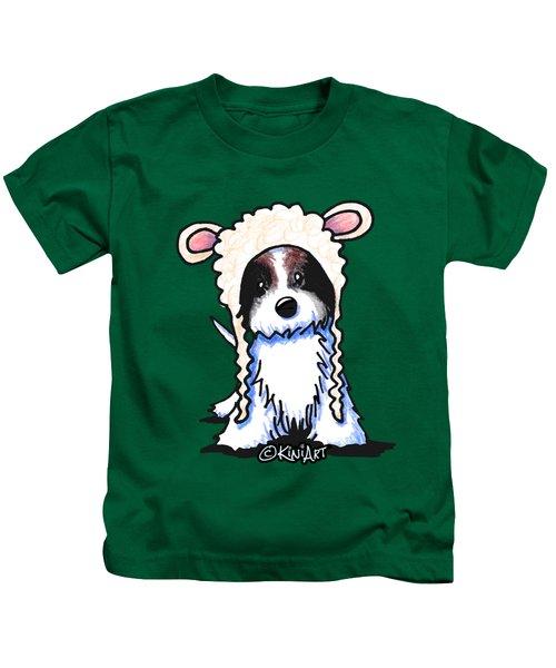 Coton De Tulear Kids T-Shirt by Kim Niles