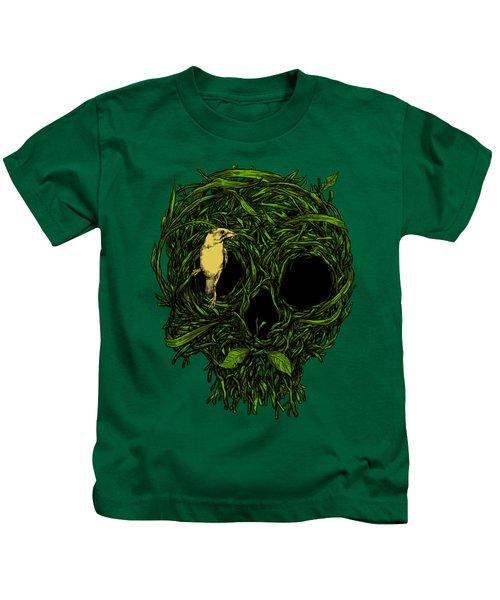 Skull Nest Kids T-Shirt by Carbine