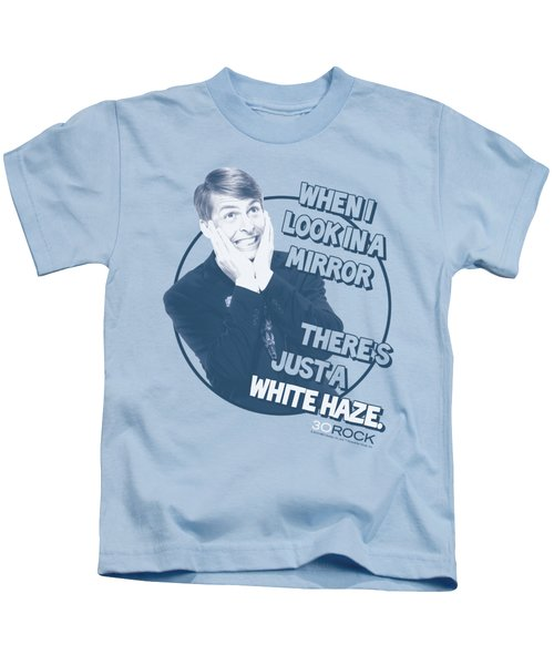 30 Rock - White Haze Kids T-Shirt by Brand A