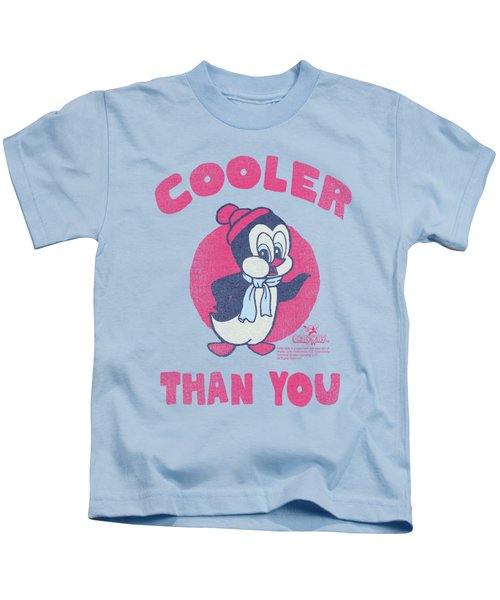 Chilly Willy - Cooler Than You Kids T-Shirt by Brand A