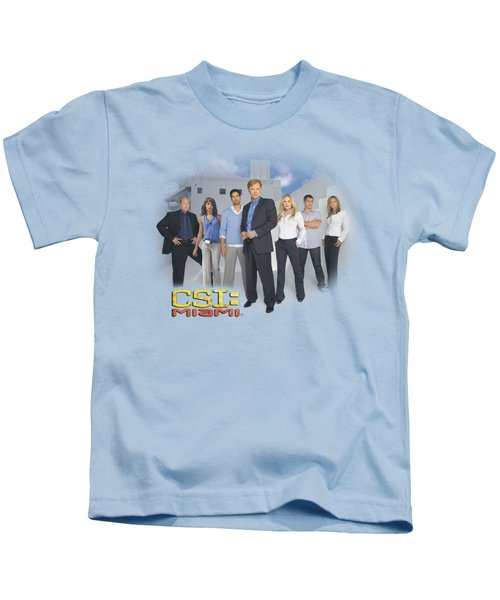 Csi - Miami Cast Kids T-Shirt by Brand A