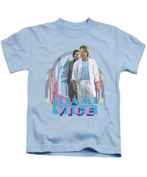 Miami Vice - Miami Heat Kids T-Shirt by Brand A
