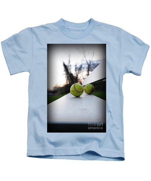 Play Ball Kids T-Shirt by Paul Ward