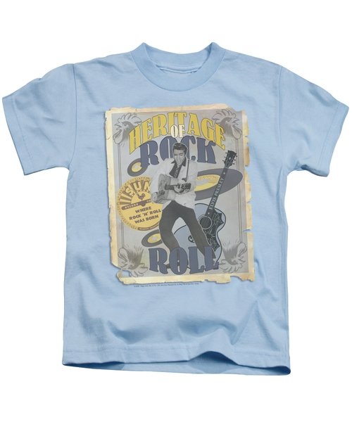 Sun - Heritage Of Rock Poster Kids T-Shirt by Brand A