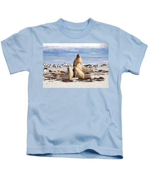 The Choir Kids T-Shirt by Mike Dawson