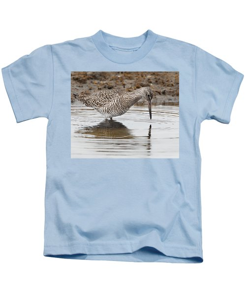 Willet Kids T-Shirt by Bill Wakeley