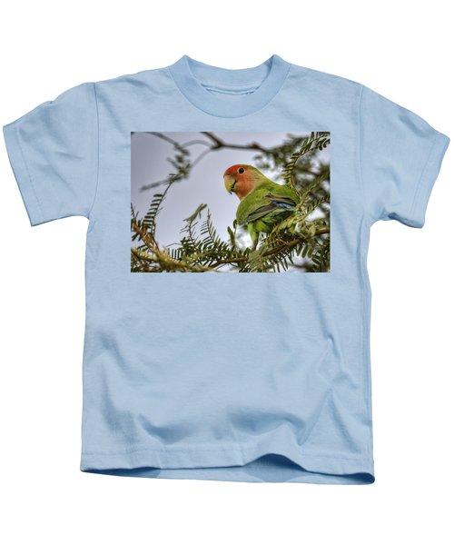 Over My Shoulder  Kids T-Shirt by Saija  Lehtonen
