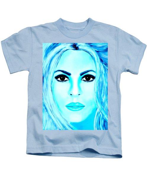 Shakira Avator Kids T-Shirt by Mathieu Lalonde