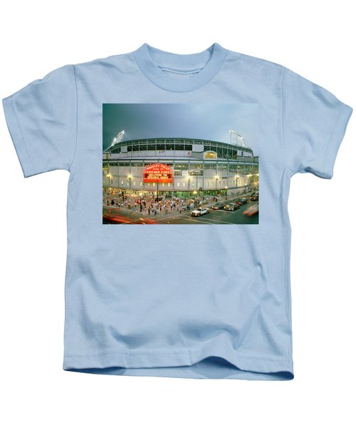 High Angle View Of Tourists Kids T-Shirt by Panoramic Images