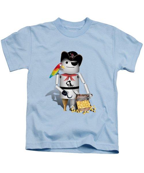 Robo-x9 The Pirate Kids T-Shirt by Gravityx9  Designs