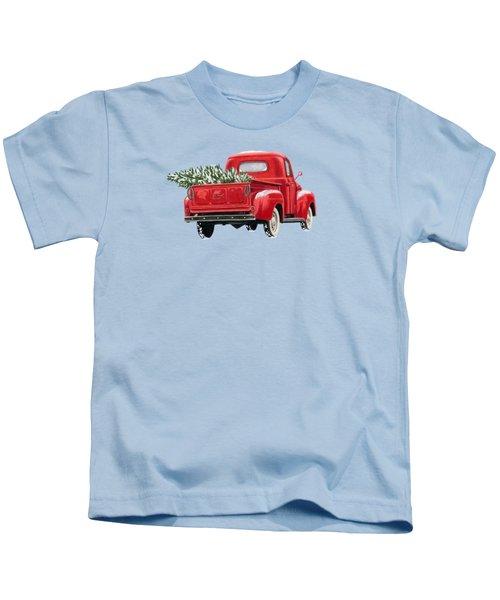 The Road Home Kids T-Shirt by Sarah Batalka