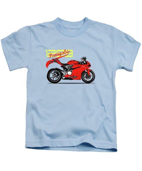 Ducati Panigale 1299 Kids T-Shirt by Mark Rogan