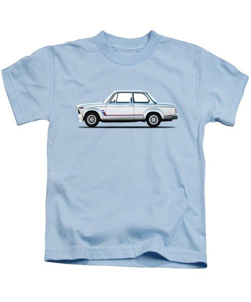 Bmw 2002 Turbo Kids T-Shirt by Mark Rogan