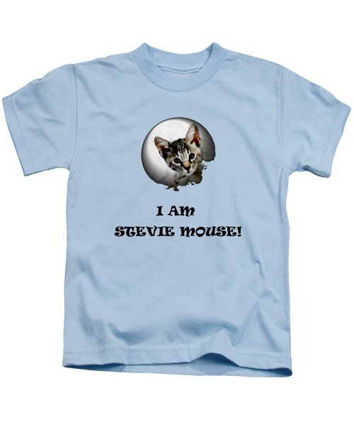 I Am Stevie Mouse Kids T-Shirt by Dorothy Berry-Lound