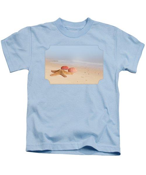 Memories Of Summer Kids T-Shirt by Gill Billington