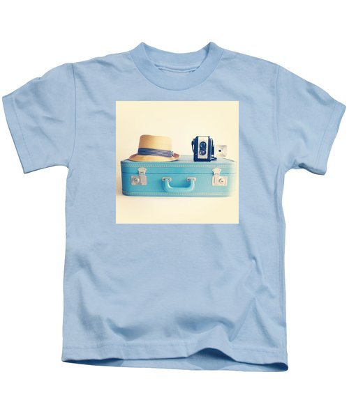 On The Road Kids T-Shirt by Colleen VT