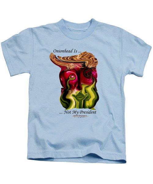 Onionhead Transparency Kids T-Shirt by Robert Woodward