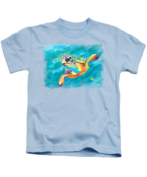 Slow Ride Kids T-Shirt by Kevin Putman