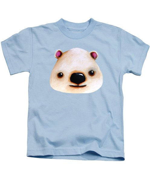 The Polar Bear Kids T-Shirt by Lucia Stewart