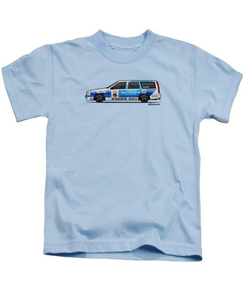 Volvo 850r Twr British Touring Car Championship  Kids T-Shirt by Monkey Crisis On Mars