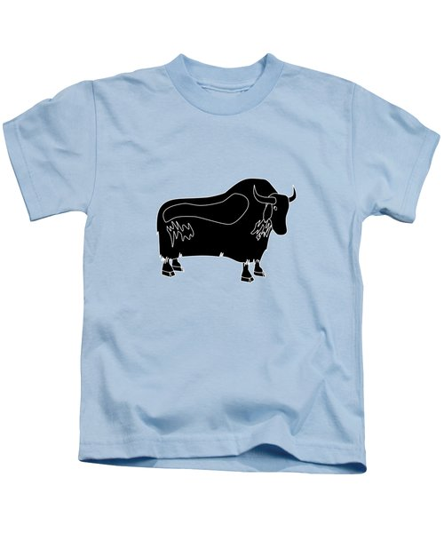 Yak Kids T-Shirt by Frederick Holiday