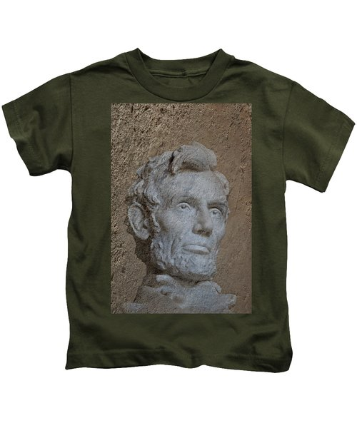 President Lincoln Kids T-Shirt by Skip Willits