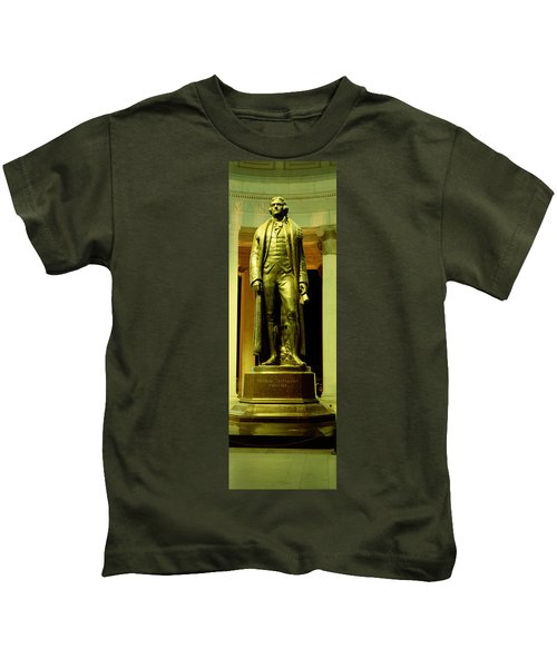 Jefferson Memorial, Washington Dc Kids T-Shirt by Panoramic Images