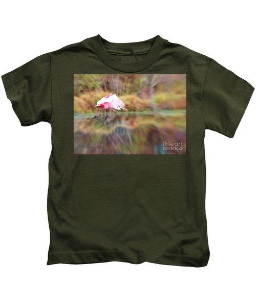 Birds Eye View Kids T-Shirt by Carol Groenen