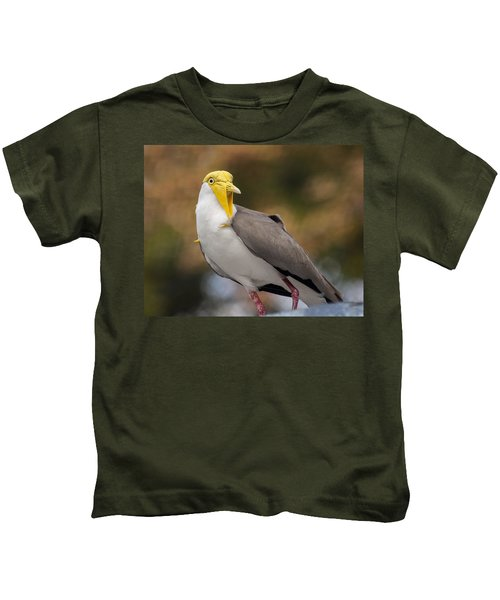 Masked Lapwing Kids T-Shirt by Carolyn Marshall