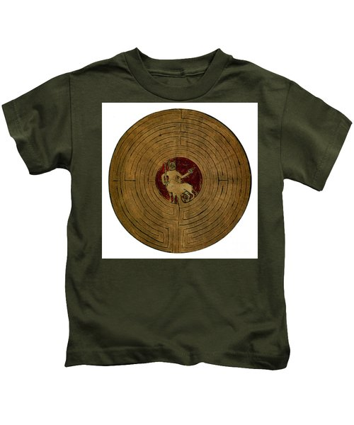 Minotaur, Legendary Creature Kids T-Shirt by Photo Researchers
