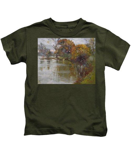 November 4th At Hyde Park Kids T-Shirt by Ylli Haruni