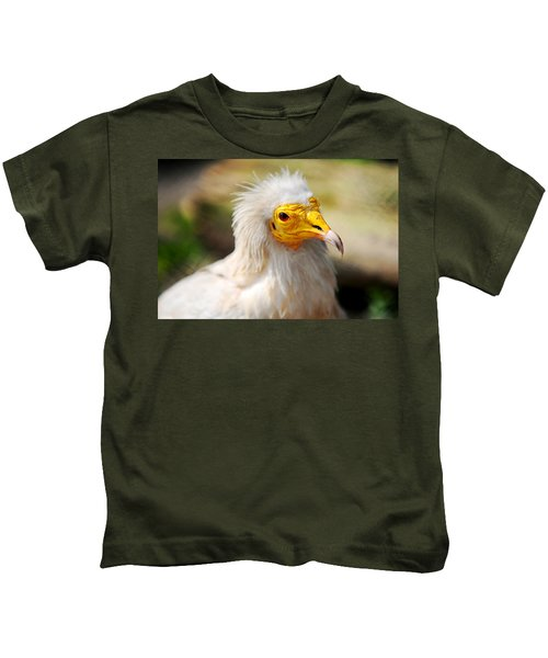 Pharaoh Chicken. Egyptian Vulture Kids T-Shirt by Jenny Rainbow