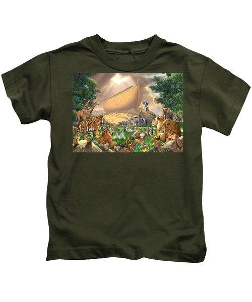 The Gathering Kids T-Shirt by Chris Heitt