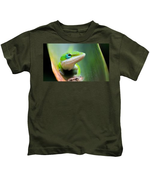 The Watching Eye Kids T-Shirt by Shelby  Young