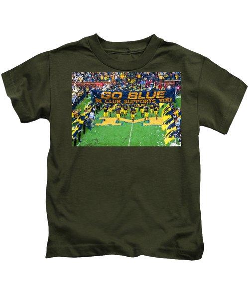 Wolverines Rebirth Kids T-Shirt by John Farr