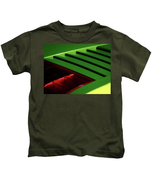 Lime Light Kids T-Shirt by Douglas Pittman