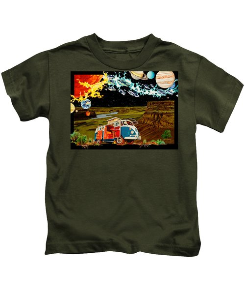 The Gorge One Sweet World Kids T-Shirt by Joshua Morton