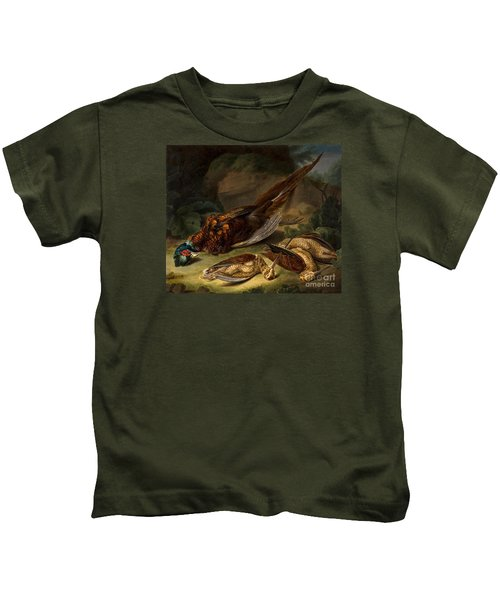 A Dead Pheasant Kids T-Shirt by MotionAge Designs