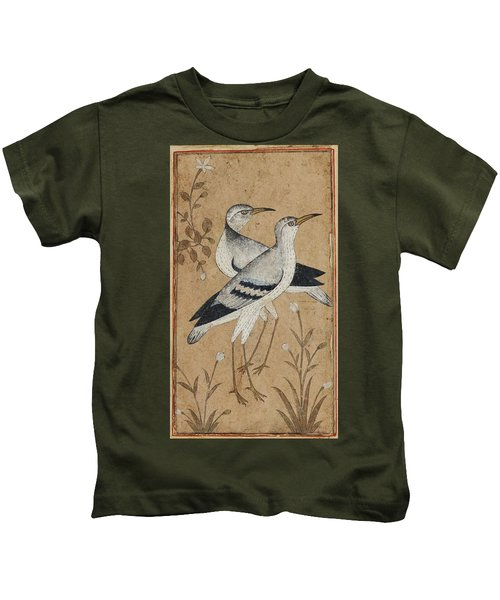 A Pair Of Lapwings Kids T-Shirt by MotionAge Designs