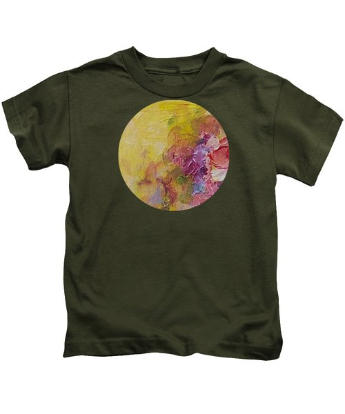 Floral Still Life Kids T-Shirt by Mary Wolf